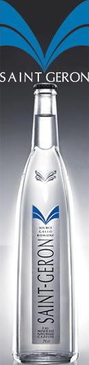 Eaux de Saint Géron - Agua mineral natural y naturalmente gaseosa.